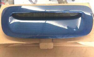 MINI COOPER S R56 COMPLETE FRONT BONNET SCOOP LIGHTNING BLUE METALLIC A63
