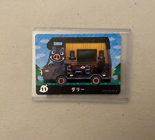 Boris #11 *Authentic* Animal Crossing Amiibo Card | NEW | JPN Version |
