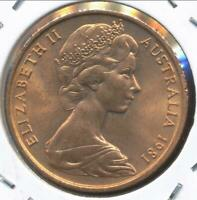 Australia, 1981 Two Cent, 2c, Elizabeth II - Uncirculated