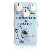 Animals Pedal Surfing Bear Overdrive Guitar Effect Pedal