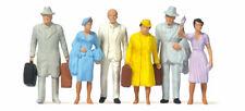 Preiser 65502 Spur 0 Reisende handbemalt 6 Figuren