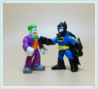 LOT 2 Imaginext DC Super Friends Batman the joker Action Figure Fisher-Price