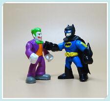 LOT 2 Imaginext DC Super Friends Batman the joker Action Figure Fisher-Price