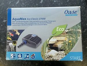 OASE Aquamax Eco Classic 17500 Pond Pump Filter Koi