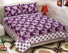 Bedsheet Cum Bed Spread for Double Bed Heavy Luxury Cotton Double Bedsheet