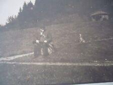 CURIOSITE - 4 CARTES PHOTOS CHASSEUR LAPIN COMIQUE PERDRIX  1900