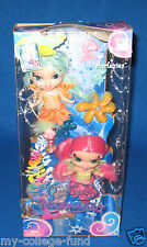 BARBIE FAIRYTOPIA MERMAIDIA MERFAIRIES PINK & BLUE NEW HARD TO FIND
