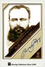 2011 Heritage Test Cricket Captains Blue Facsimile Signature #1: Dave Gregory