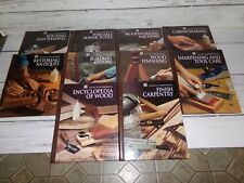 Time Life books the art of Woodworking books carpentry wood tools sharpening