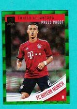 Thiago Alcantara  2018/19 Donruss Soccer GREEN PRESS PROOF  -SPAIN