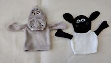 Gloria (Madagascar Movie ) & Shawn the Sheep Hand Puppet