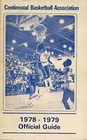 1978-79 Continental Basketball Association Media Guide - CBA #FWIL
