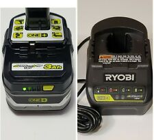 Genuine Ryobi P191 18V One+ Lithium+ Hp 3Ah Battery And P118B Charger Combo New