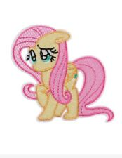 My Little Pony Fluttershy Patch Embroidered Iron On Applique 3.62 X 3.54