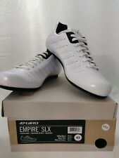 Brand New!!! Giro Empire SLX Road Cycling Shoe Men's US M9.5 EUR 43 WHITE *RARE*