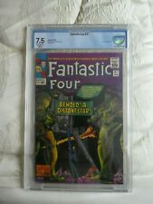 fantastic four.37 cgc,cbcs 7.5 skrulls appearance