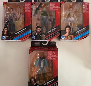 dc comics multiverse action figures lot wonder woman suicide squad harley quinn