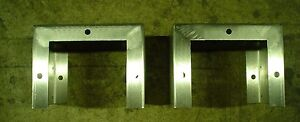 Stainless enclosure standoff legs Aprox 9 3/4'' deep x 6'' tall