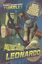 Teenage Mutant Ninja Turtles Mutant Origin: Donatello/Leonardo Novel, Nickelodeo