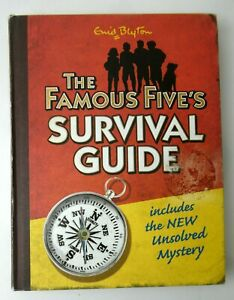 The Famous Five's Survival Guide with New Unsolved Mystery - Enid Blyton