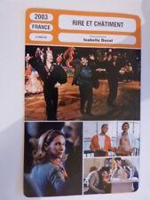 FICHE CINEMA,RIRE ET CHATIMENT , ISABELLE DOVAL , 2003, J.garcia,I.doval