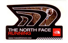 "THE NORTH FACE RUNNING SHOES LARGE 4.75"" X 3"" DIE CUT STICKER/DECAL, NEW!"