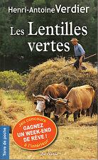 Livres Poche les lentilles vertes  H. A Verdier book