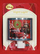 DISNEY/PIXAR CARS CHRISTMAS NIGHT LIGHT NITELIGHT-FUN FOR CHRISTMAS & YEAR-ROUND