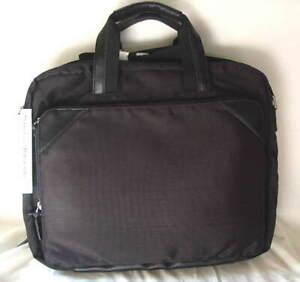 PERRY ELLIS PORTFOLIO Expandable Computer Laptop Case Briefcase Bag NEW  NWT