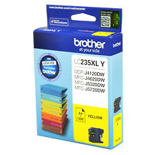 GENUINE Original Brother LC235XLY YELLOW Ink Cartridge Toner LC235XL Y