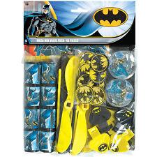 DC Batman 48 Piece Comic Birthday Party Favor Mega Mix Value Pack