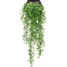 Hang Flower Artificial Wall Wisteria Basket Garland Vine Fake Silk Orchid W
