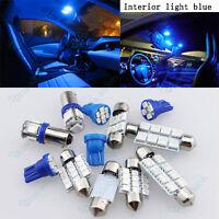 Blue Bright LED Lights Interior Package Kit For Subaru WRX STi 2013-2016 - 6Pcs
