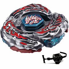 4D Beyblade BB108 Rare L-Drago Destroy Metal Master Fight Launcher Fury Kids Toy