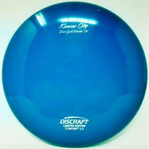 Drone Z 2009 Worlds Stamp 180g Blue LE New Discraft PRIME Disc Golf Rare