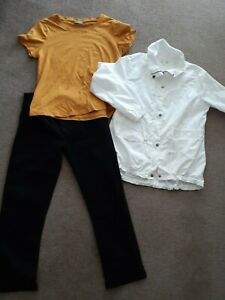 Ladies Sz 14 Capture Jacket, Sussan L Top & Wasos Jeans
