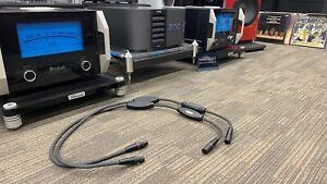 "Transparent Reference 1M RBL MM2 ""Hi Z"" XLR InterConnect Cables"