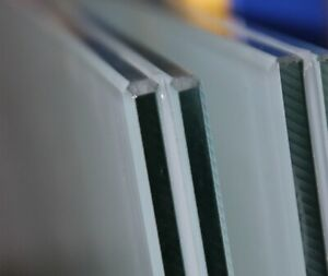 VSG Glas 10 mm aus 2 x 5 mm Float, 0,76 Folie matt