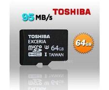 Toshiba microSDXC UHS-I 64GB Mobile Phone Memory Cards