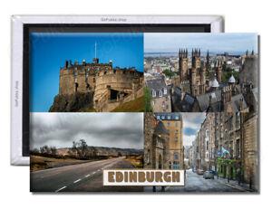 Edinburgh Scotland England UK – Souvenir Fridge Magnet
