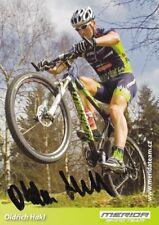 CYCLISME carte cycliste OLDRICH HAKL équipe MERIDA BIKING TEAM signée