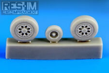 Resin Improvement 1/72 McDonnell Douglas F-15A/B/C/D Wheel Set