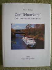 Der Teltowkanal - Berlin Bau Wasserführung Schleuse Kleinmachnow Brücken Hafen