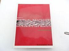 MC GRATH'S FINANCIAL INSTITUTNS INSTRMNTS & MARKETS VINEY 4THED MCGRAW HILL 2003
