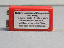 MTH BCR BATTERY COMPONENT REPLACEMENT FOR PS1 PS2 ENGINES 9 VOLT BATTERIES NEW
