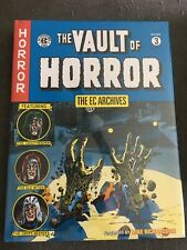ec archives the vault of horror volume 3 HARDCOVER SEALED RARE OOP DARK HORSE