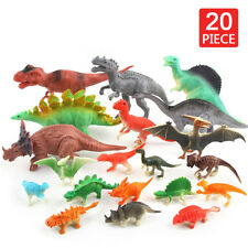 20pcs Dinosaur Kids Play Toy Animal Action Figures Novelty Collection Christmas