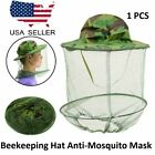 Beekeeping Hat Cap Anti-Mosquito Mask Net Veil Face Head Protector Camouflage US