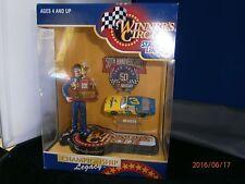 Nascar Winner Circle Dale Earnhardt 1986 Championship Figure & Car Original Box