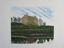 "Katherine Gallagher Etching/Aquatint ""BALLYMACUS"" County Kerry Ireland 126/150"